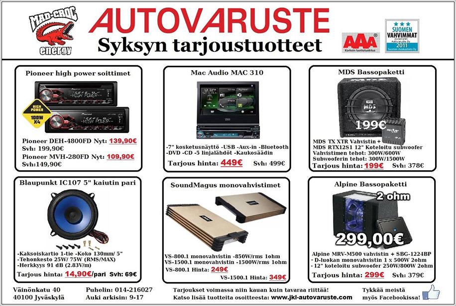 Jyväskylän autovaruste